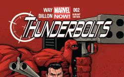 cover from Thunderbolts (2012) #2 (TAN VARIANT)