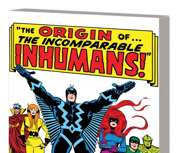 the origin of the inhumans tpb trade paperback inhumans the origin ...