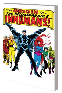 INHUMANS: THE ORIGIN OF THE INHUMANS TPB (Trade Paperback)