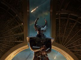 Heimdall character poster from Marvel's Thor: The Dark World