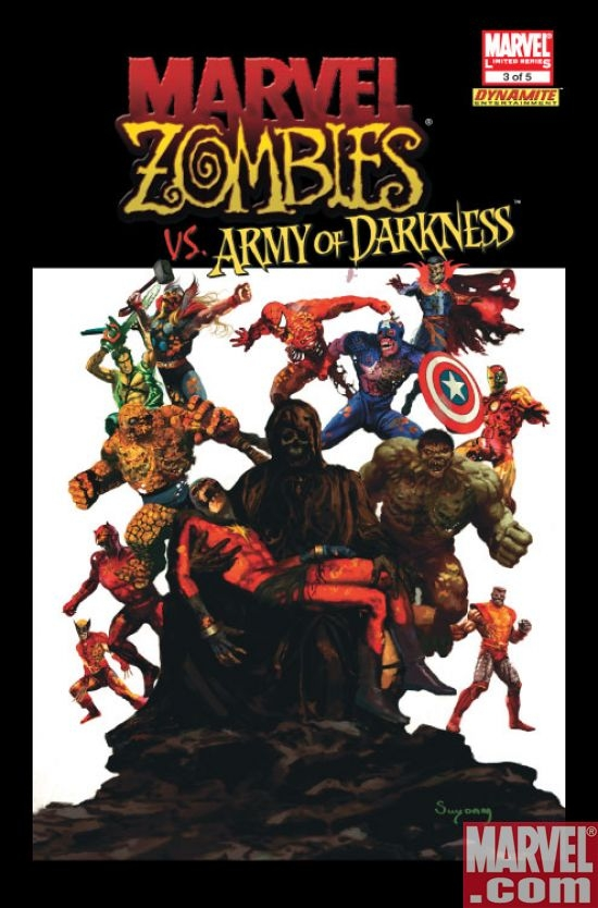 Marvel Zombies vs. Army of Darkness #3 DE var