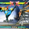 Screenshot of Doctor Strange vs. Chris Redfield from Ultimate Marvel vs. Capcom 3