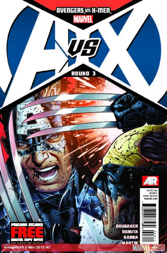AVENGERS VS. X-MEN 3 (WITH DIGITAL CODE)
