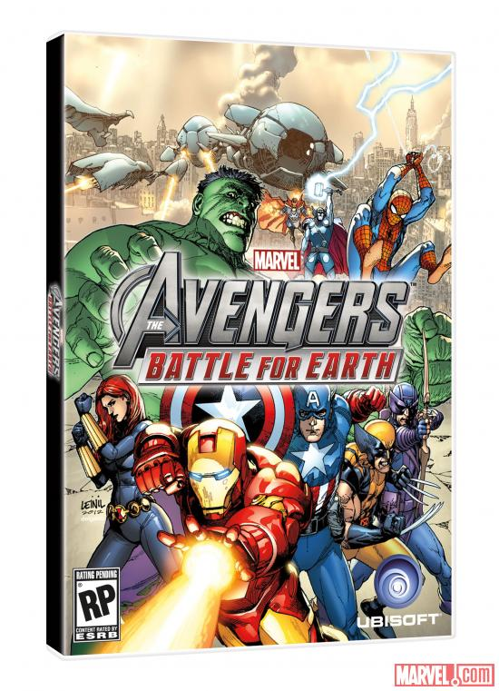 Avengers: Battle For Earth Box Art