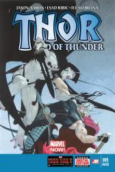 Thor: God of Thunder #5  (2nd Printing Variant)