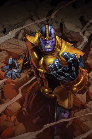 Thanos Annual #1 cover by Dale Keown