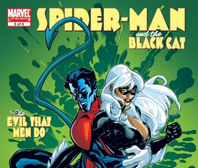 SPIDER-MAN/BLACK CAT: EVIL THAT MEN DO (2007) #5 COVER