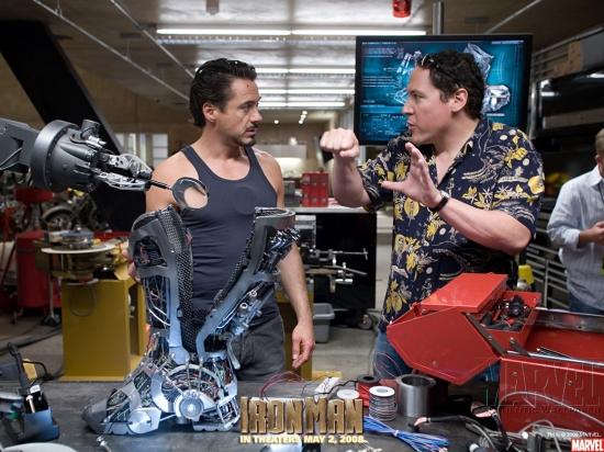 Iron Man Movie: Robert Downey Jr. and Jon Favreau