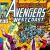 Avengers West Coast #53 cover by John Byrne