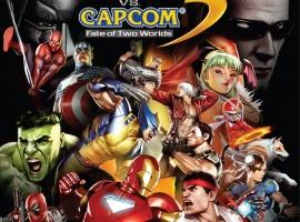 Marvel vs. Capcom 3: Fate of Two Worlds Xbox 360 Box Art
