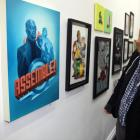 Director Joss Whedon at Gallery1988 in Los Angeles