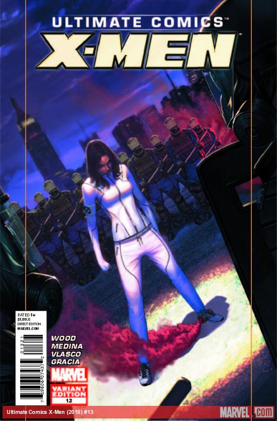 ULTIMATE COMICS X-MEN 13 MOLINA VARIANT (WITH DIGITAL CODE)