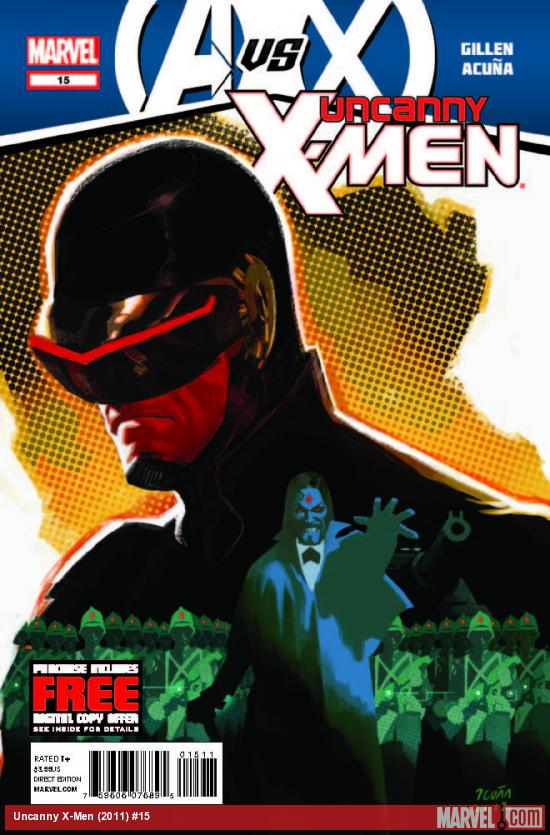 UNCANNY X-MEN 15 (AVX, WITH DIGITAL CODE)