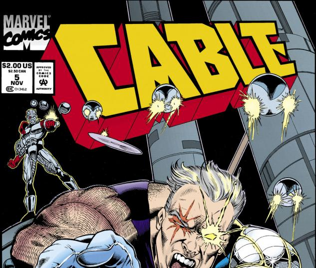 Cable (1993) #5 Cover