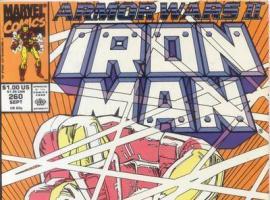 Iron Man #262 cover