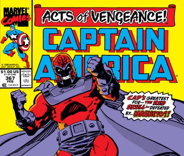 Captain America (1968) #367 Cover
