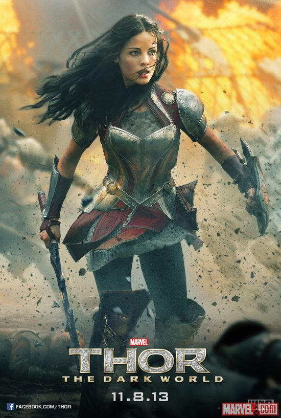 Sif character poster from Marvel's Thor: The Dark World