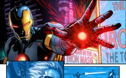 Iron Man #23.NOW preview art by Luke Ross