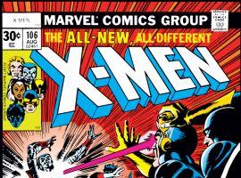 Uncanny X-Men (1963) #106 Cover