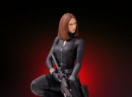 Black Widow Collectors Gallery Statue from Gentle Giant