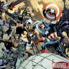 Image Featuring Avengers, Bullseye, Luke Cage, Captain America, Sif, Spider-Man, Taskmaster, Captain Marvel (Carol Danvers), Venom (Mac Gargan)