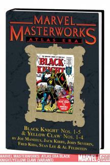 Marvel Masterworks: Atlas Era Black Knight/Yellow Claw Vol. 1 Variant (Hardcover)