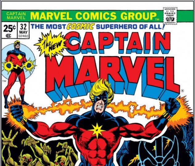 CAPTAIN MARVEL #32 COVER