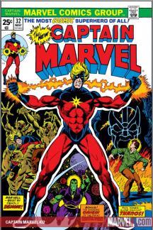 Captain Marvel (1968) #32