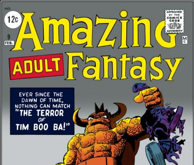 Amazing Adult Fantasy #9
