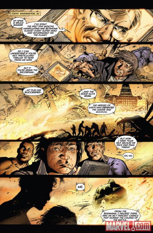 Incredbile Hulk #611 preview art by Paul Pelletier