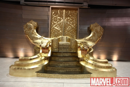 Odin's throne at San Diego Comic-Con