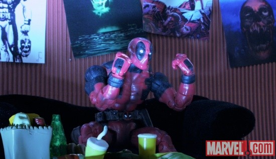 Deadpool in Marvel Super Heroes: What The--?!