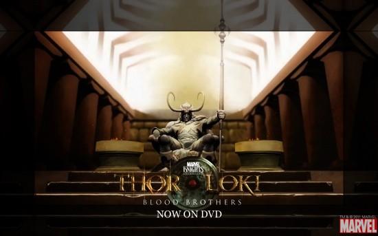 Thor & Loki: Blood Brothers Wallpaper #1
