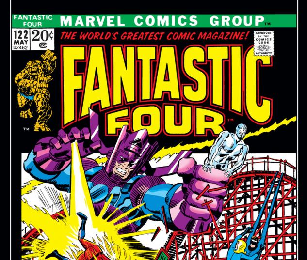 Fantastic Four (1961) #122 Cover