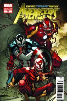 Avengers (2010) #21 (Venom Variant)