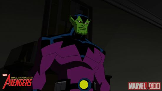 "The Skrulls on ""The Avengers: Earth's Mightiest Heroes"""