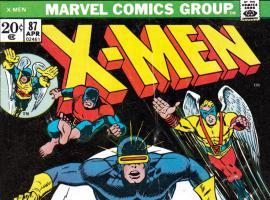 Uncanny X-Men #87 Cover