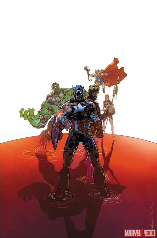 Marvel Universe Vs The Avengers #1 cover