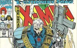 Uncanny X-Men #294 cover by Brandon Peterson