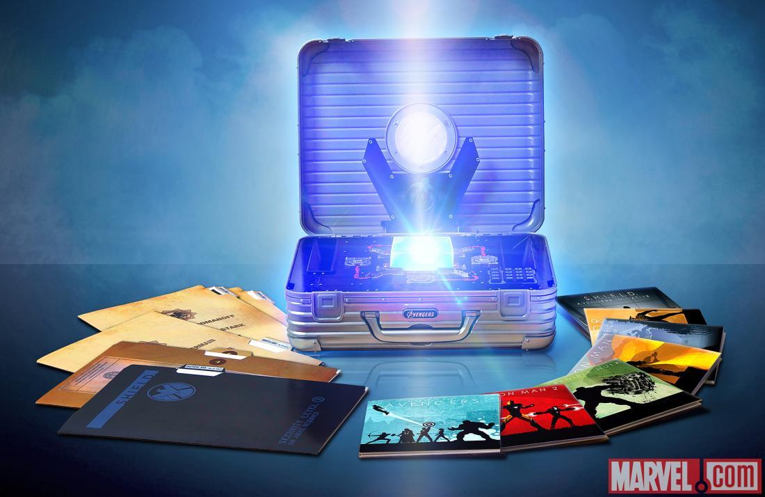 Marvel cinematic universe phase one avengers assembled box set