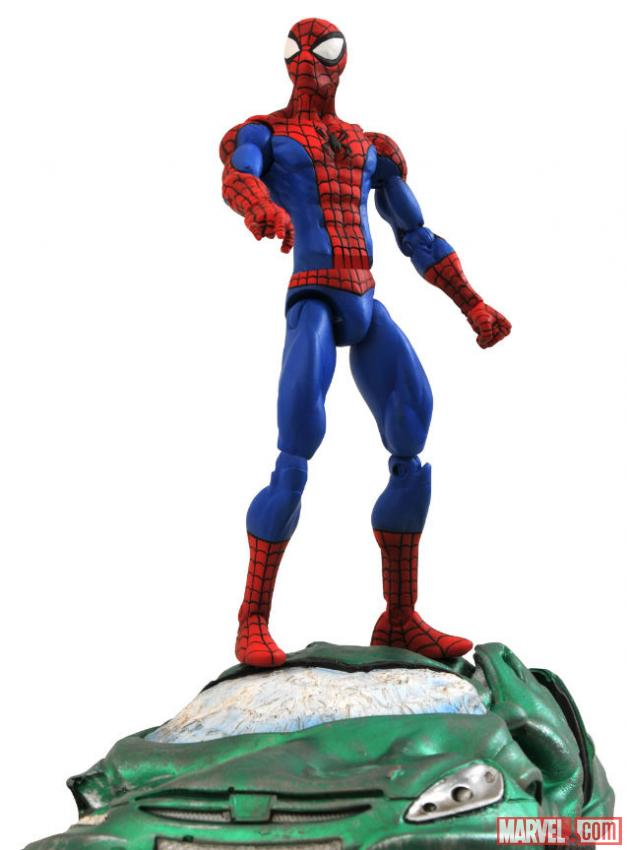 Spider-Man figure from Diamond Select Toys
