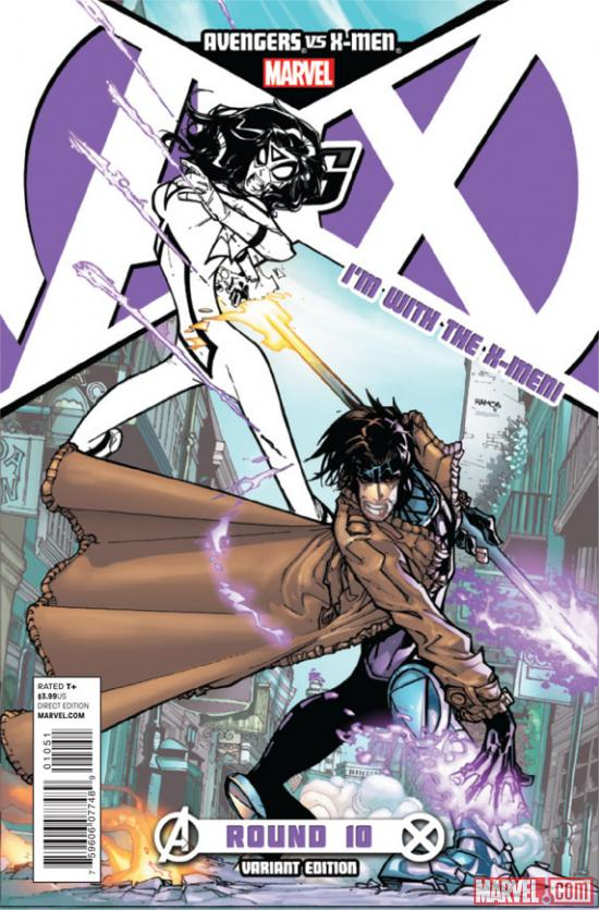 Avengers VS. X-Men #10 variant cover by Humberto Ramos