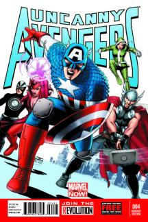 Uncanny Avengers (2012) #4 (Cassaday Variant)