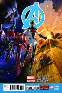 Avengers #5  (2nd Printing Variant)