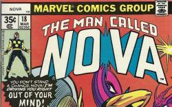 Nova (1976) #18 cover by Carmine Infantino