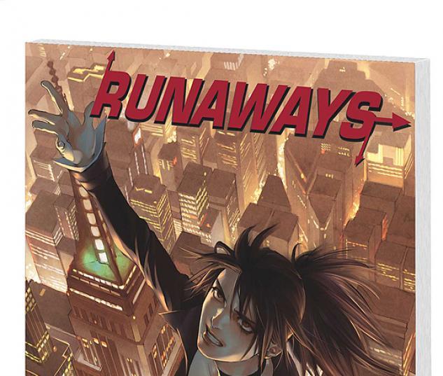RUNAWAYS VOL. 5: ESCAPE TO NEW YORK COVER