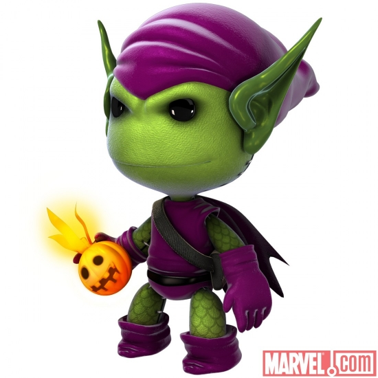 Green Goblin costume in LittleBigPlanet