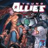 YOUNG ALLIES #5 cover art by David Lafuente