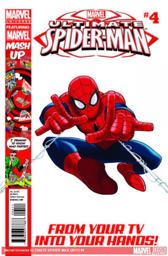 MARVEL UNIVERSE ULTIMATE SPIDER-MAN 4