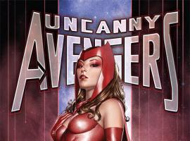 Uncanny Avengers #1 variant cover by Adi Granov